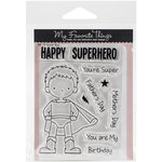 My Favorite Things - Birdie Brown - Clear Acrylic Stamps - Super Boy