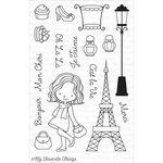 My Favorite Things - Birdie Brown - Clear Acrylic Stamps - Mon Cheri