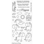 My Favorite Things - Birdie Brown - Clear Acrylic Stamps - Magical Unicorns