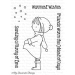 My Favorite Things - Birdie Brown - Clear Acrylic Stamps - Warmest Wishes