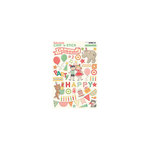 October Afternoon - Cakewalk Collection - Chip 'n Stick - Self Adhesive Chipboard - Variety