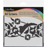 ColorBox - Art Screens - 6 x 6 Stencil - Trellis