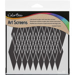 ColorBox - Art Screens - 6 x 6 Stencil - Argyle