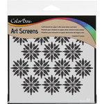 ColorBox - Art Screens - 6 x 6 Stencil - Falling Stars
