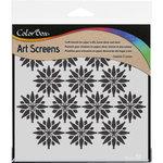 ColorBox - Art Screens - 6 x 6 Stencil - Falling Stars