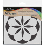 ColorBox - Art Screens - 6 x 6 Stencil - Cotton