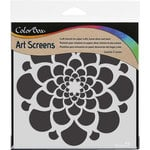 ColorBox - Art Screens - 6 x 6 Stencil - Burst