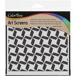 ColorBox - Art Screens - 6 x 6 Stencil - Zone