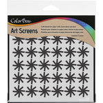ColorBox - Art Screens - 6 x 6 Stencil - Pinwheel