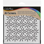ColorBox - Art Screens - 6 x 6 Stencil - Petals