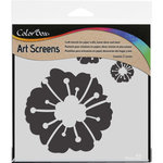 ColorBox - Art Screens - 6 x 6 Stencil - Botanical