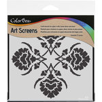 ColorBox - Art Screens - 6 x 6 Stencil - Damask
