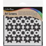 ColorBox - Art Screens - 6 x 6 Stencil - Starpoints