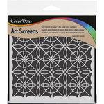 ColorBox - Art Screens - 6 x 6 Stencil - Geometrics