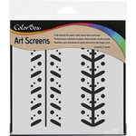 ColorBox - Art Screens - 6 x 6 Stencil - Ditto