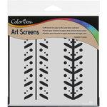 ColorBox - Art Screens - 6 x 6 Stencil - Ditto
