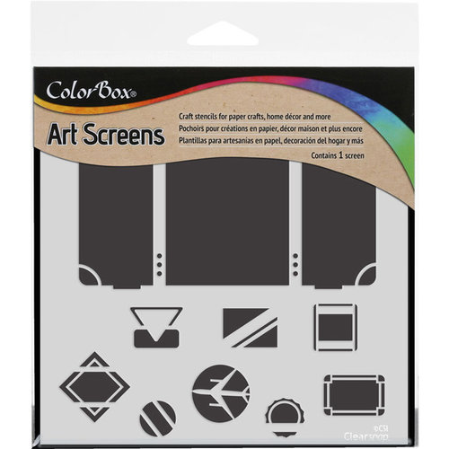 ColorBox - Art Screens - 6 x 6 Stencil - Travel