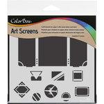 ColorBox - Art Screens - 6 x 6 Stencil - Travel