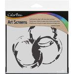 ColorBox - Art Screens - 6 x 6 Stencil - Rings
