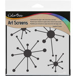 ColorBox - Art Screens - 6 x 6 Stencil - Elements