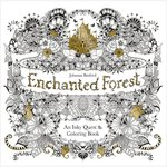 Chronicle Books - Enchanted Forest Coloring Book