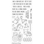 My Favorite Things - Clearly Sentimental - Clear Acrylic Stamps - Farm-Tastic