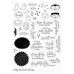 My Favorite Things - Clearly Sentimental - Clear Acrylic Stamps - Frightfully Fun Halloween