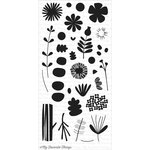 My Favorite Things - Clearly Sentimental - Clear Acrylic Stamps - Fall Florals