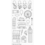 My Favorite Things - Clearly Sentimental - Clear Acrylic Stamps - London Mouse