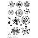 My Favorite Things - Clearly Sentimental - Christmas - Clear Acrylic Stamps - Snowflake Flurry