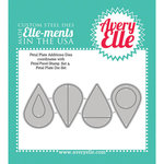 Avery Elle - Elle-Ments Dies - Petal Plate Additions