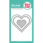 Avery Elle - Elle-Ments Dies - Scalloped and Pierced Hearts