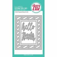 Avery Elle - Elle-Ments Dies - Diagonal Stripes