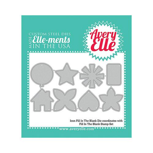 Avery Elle - Elle-Ments Fill In The Blank Dies - Icon