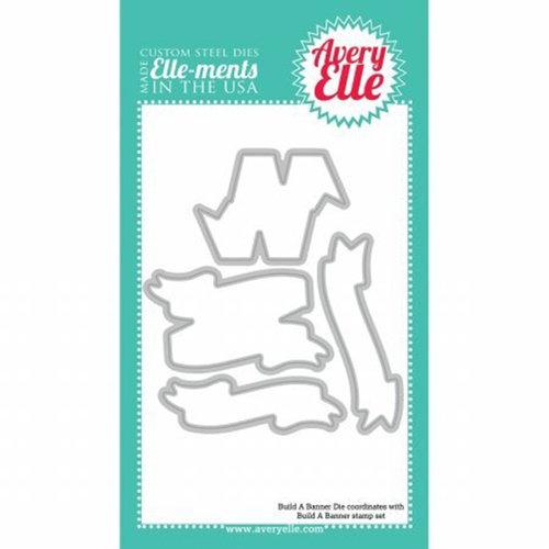 Avery Elle - Elle-Ments Dies - Build-A-Banner