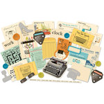 October Afternoon - 9 to 5 Collection - Miscellany - Embellishment Pack