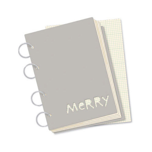 October Afternoon - Make it Merry Collection - Christmas - Here and Now Book - Merry