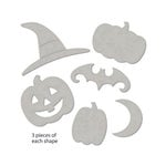October Afternoon - Witch Hazel Collection - Halloween - Chipboard Shape Bundle