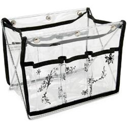 Mackinac Moon - Printed Tabletop Organizer - Black