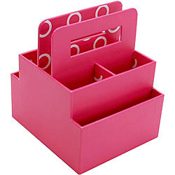 Everything Mary - Scrapbook Station - Desktop Organizer - Pink, BRAND NEW