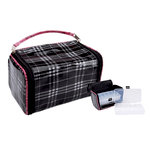 Mackinac Moon - Bead Locker - Storage with Case - Plaid