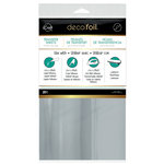 Therm O Web - iCraft - Deco Foil - 6 x 12 Transfer Sheet - Silver - 20 Pack