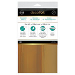 Therm O Web - iCraft - Deco Foil - 6 x 12 Transfer Sheet - Rose Gold - 20 Pack