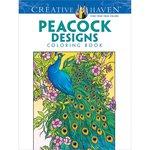 Dover Publications - Creative Haven - Peacock Designs