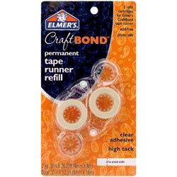 Elmer's - Craft Bond - Tape Runner - Permanent - Refills