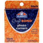 Elmer's - Craft Bond - Photo Corners - Black