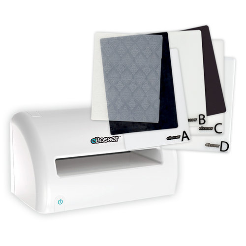 Craftwell - eBosser - Electronic Die Cutting and Embossing System Bundle