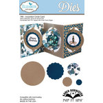 Elizabeth Craft Designs - Karen Burniston - Pop it Ups Metal Dies - Accordion Circle Card