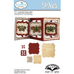 Elizabeth Craft Designs - Karen Burniston - Pop it Ups Metal Dies - Accordion Fancy Label
