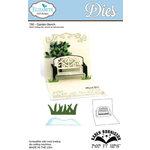 Elizabeth Craft Designs - Karen Burniston - Pop it Ups Metal Dies - Garden Bench